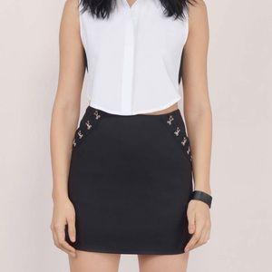 Black Tobi Mini Skirt